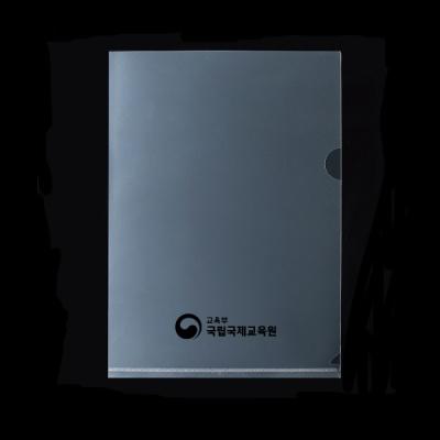L홀더 클리어홀더 10p/A4서류 투명화일 클리어화일