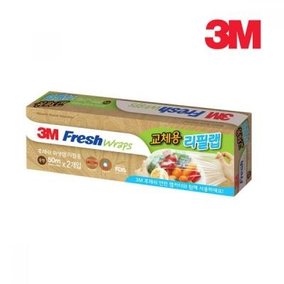 3M 후레쉬 안전랩 교체용 리필(2개입)