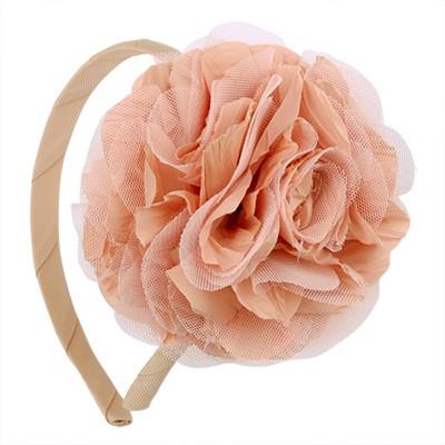 [헤어보우]Lobelia 헤어밴드- Peach