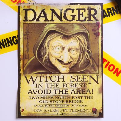 할로윈 마녀 포스터