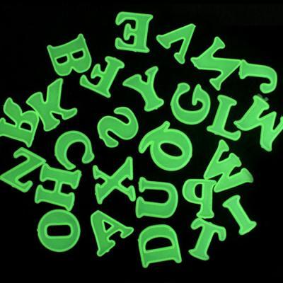 반짝반짝 야광 알파벳 스티커