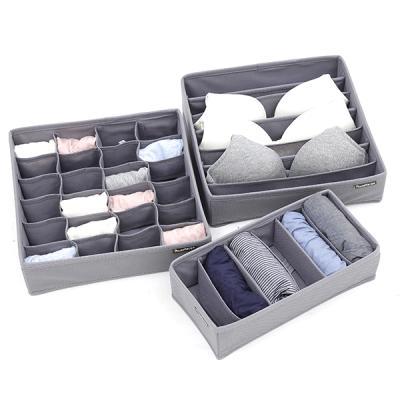 부직포 속옷정리함 3종세트 (3컬러)