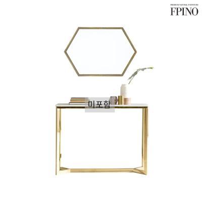 퍼피노 로엠 골드프레임 육각 거울 nm213