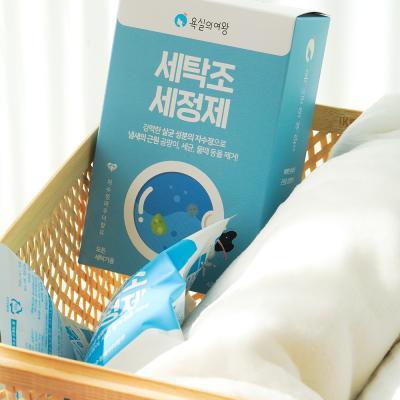 욕실의여왕 세탁조 청소 클리너 4매입 세탁기 통 세척