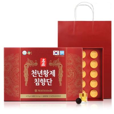 [개성인삼농협] 명품 천년 황제 침향단 3.75gx30환