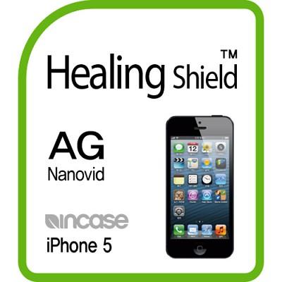 [힐링쉴드] 아이폰5 인케이스 AG Nanovid 지문방지 액정보호필름 2매(HS140308)