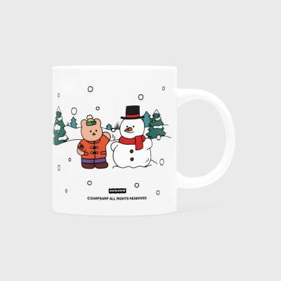 Covy and snowman(머그컵)