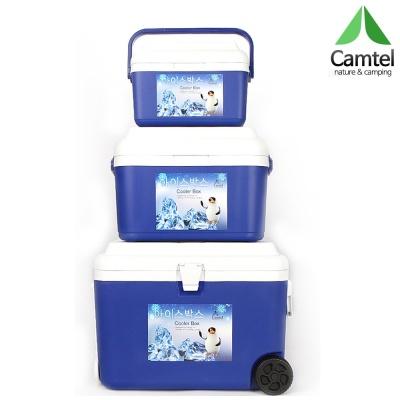 캠텔 캐리어형 아이스박스 3종세트 50L+22L+8L 바퀴형