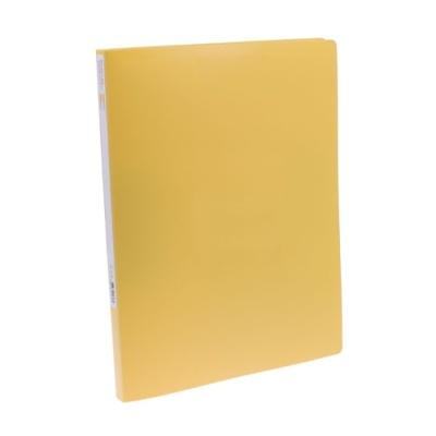 [문화산업] PP레버클립화일(좌철)F431-7 노랑 [개1] 146014