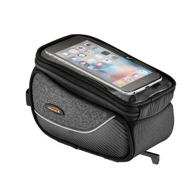 스마트폰 거치 가능 탈부착 방식 자전거 탑튜브 가방
