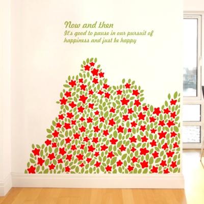 들꽃언덕 (작은꽃) - 완제품A타입 그래픽스티커