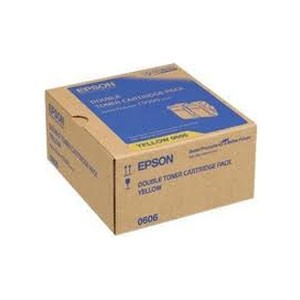 엡손(EPSON) 토너 C13S050606 (Double Pack) / Yellow / AcuLaser C9300N Toner / ( 7.5K*2 )