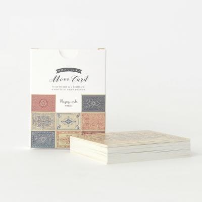 메모카드 - 플레잉 카드