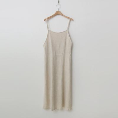 Linen Overalls Long Dress