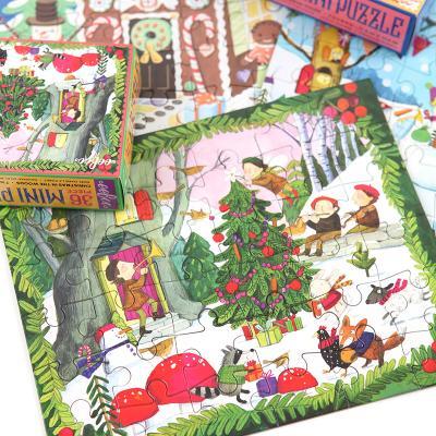 숲속의 크리스마스 36피스 미니퍼즐 3세이상