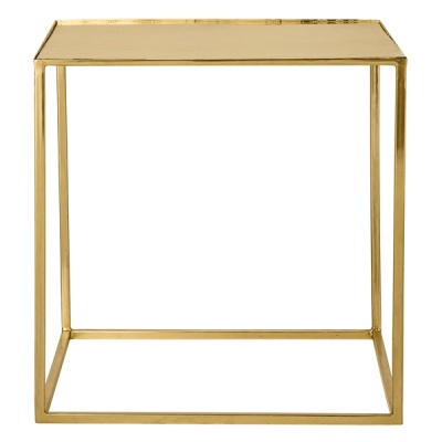 [Blooming]Cube Table Gold Finish 큐브테이블48400016