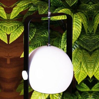 트윈 시스터즈 펜던트등(LED겸용) -블랙+화이트(몸체)
