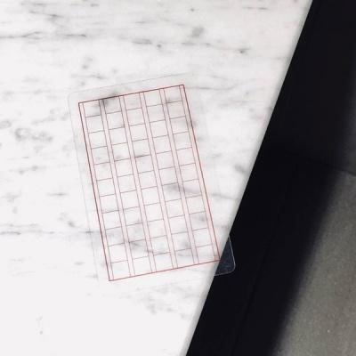 직접 쓰는 투명 책갈피