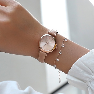 [쥴리어스공식] JA-1018 여성시계 가죽시계