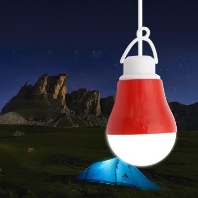 캠핑용 LED램프 / 5W 전구형 Red / 텐트등 LCND742