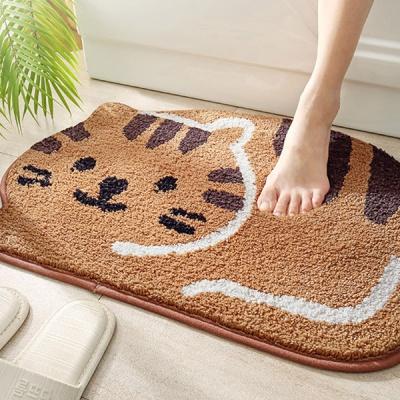 미끄럼방지 고양이 발매트 2컬러