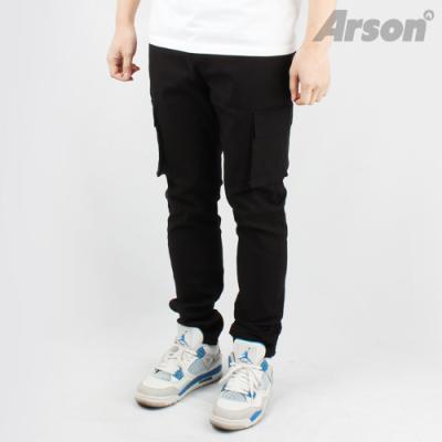 [Arson] 알슨 정품/ARSON 1121 CARGO PANTS (BLACK)/바지/긴바지/카고바지/면바지