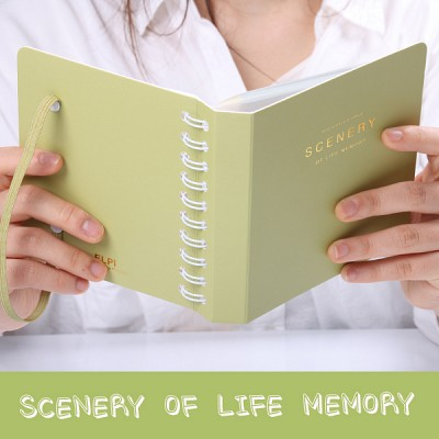 SCENERY OF LIFE MEMORY - 3x5 Photo Album ver.02 - 옐로우 그린