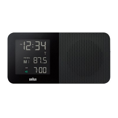 BNC010BK 라디오 디지털알람시계 - 블랙