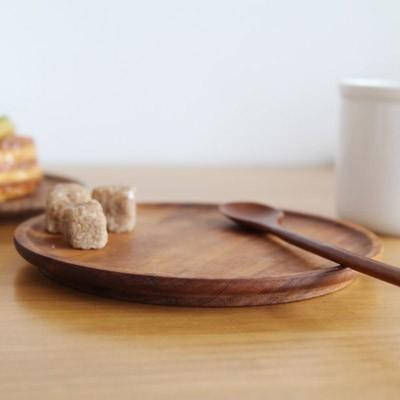 옻칠 원형 접시 (소)