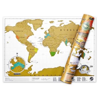럭키스 스크래치 맵 세계지도 (소형사이즈)
