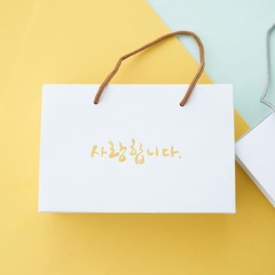 포포팬시 순수 종이 쇼핑백 2