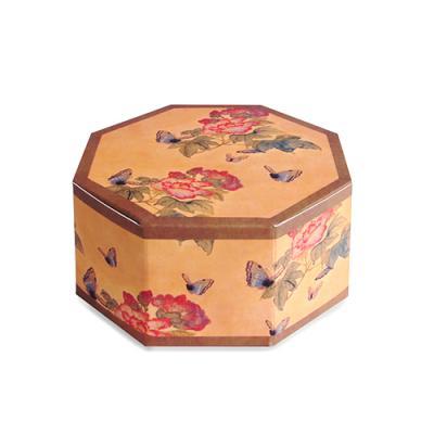 전통민화 나비 팔각상자 소 (2개)