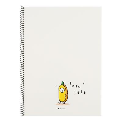 포포팬시 룰루랄라 바나나 노트 아이보리