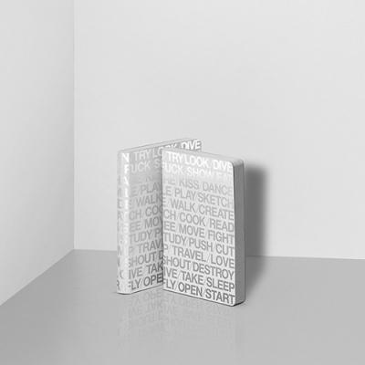 그래픽 노트 스몰 - 100 IDEAS WHITE