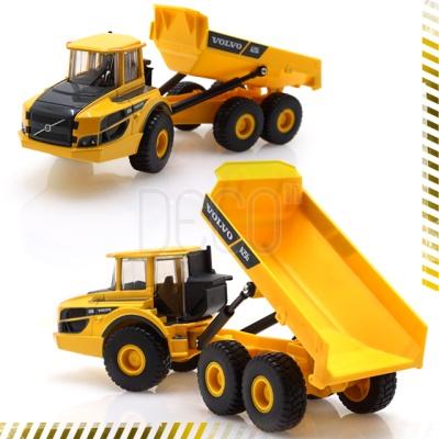 1:50 볼보 굴절식 덤프트럭 건설 중장비 시리즈