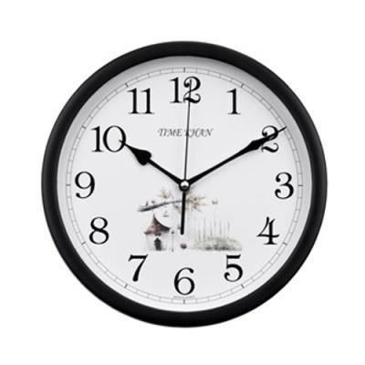 [타임칸] 퍼스날벽시계 260B 블랙 [개/1] 332150