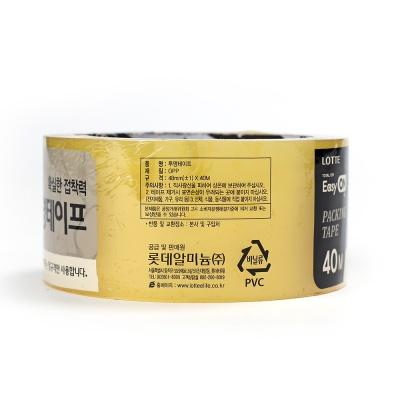 40M 롯데 이지온 투명테이프(폭-5cm)