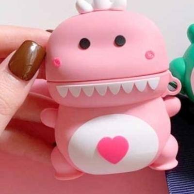 공룡 에어팟 케이스1 2세대 핑크