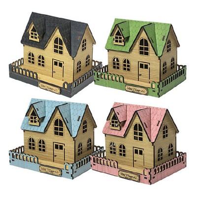 DIY나무모형 마을 시리즈2 스몰하우스