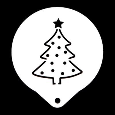 스텐스텐실-크리스마스 트리