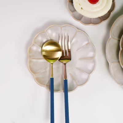 시노 빈티지 꽃그릇 꽃접시 소