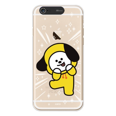BT21 iPhone6/ iPhone6 Plus 치미 라이팅 케이스 (Soft)
