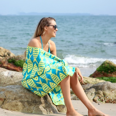 BEACH TOWEL (비치타월) 옐로우그린