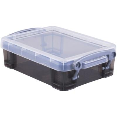 [Really Useful] 클리어박스0.75리터 (Litre) 투명블랙 [개/1] 302730