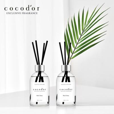 코코도르 디퓨저 화이트라벨 200ml X 2개 + 야자잎