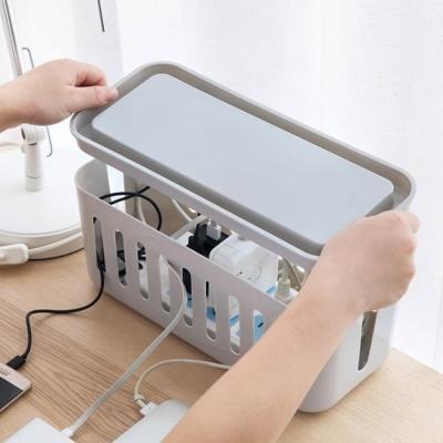 PH 멀티탭 전선 정리함 콘센트 케이블 수납함