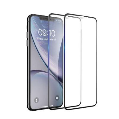 아이폰 XR 디펜드 풀커버 강화유리 액정보호필름 2매+