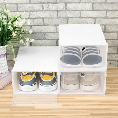 슈박스 신발정리함 3p세트 소 화이트 DIY슈케이스