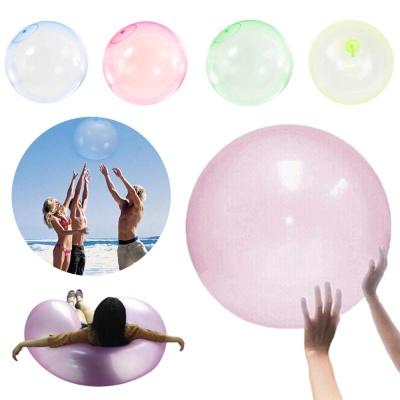 초대형 70CM 젤리 버블 볼 투명 풍선공 물놀이 장난감
