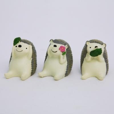 고슴도치 미니장식소품 셋트 장식 소품 추카추카넷